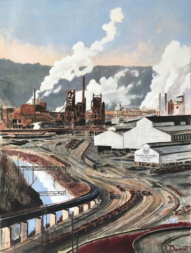 Edgar Thomson Works, Braddock PA